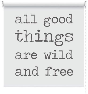 All good things, Φράσεις, Ρολοκουρτίνες