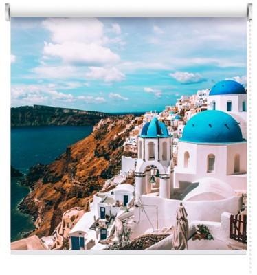 Σαντορίνη, Ελλάδα, Πόλεις - Ταξίδια, Ρολοκουρτίνες