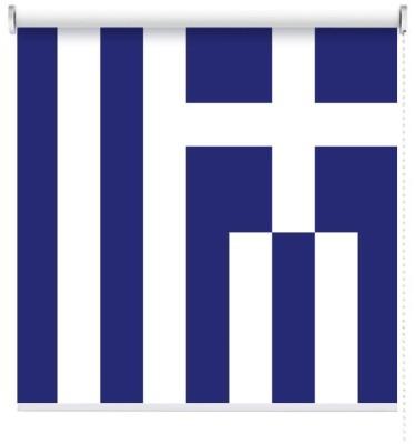 Ελλάδα, Σημαίες του κόσμου, Ρολοκουρτίνες