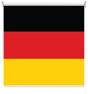Γερμανία, Σημαίες του κόσμου, Ρολοκουρτίνες