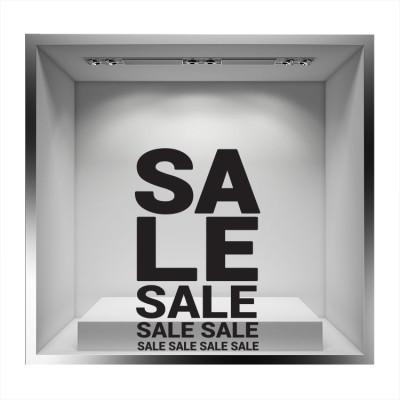 Sale Sale Sale, Εκπτωτικά, Αυτοκόλλητα βιτρίνας