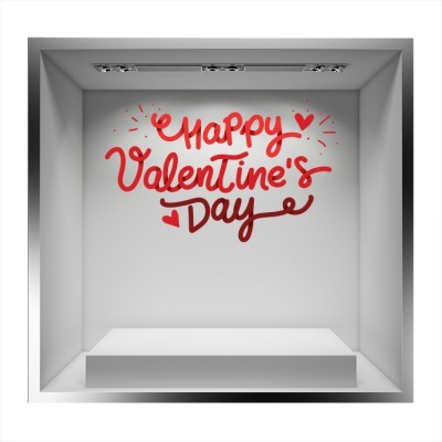 Happy Valentine\'s Day!, Valentines Day, Αυτοκόλλητα βιτρίνας