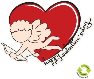 Έρωτας, Valentines Day, Αυτοκόλλητα βιτρίνας