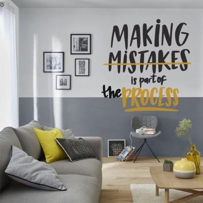 Making Mistakes, Φράσεις, Αυτοκόλλητα τοίχου