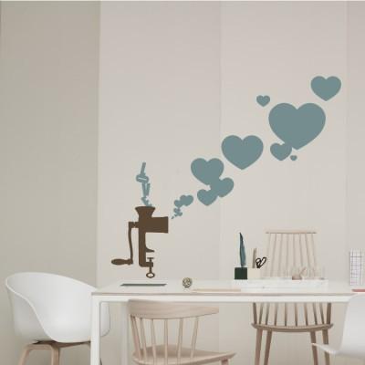 Καρδούλες  Love, Διάφορα, Αυτοκόλλητα τοίχου