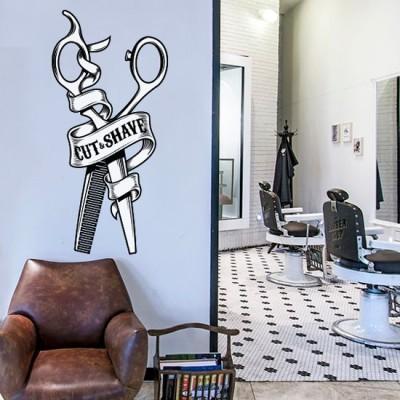 Cut & Shave, Διάφορα, Αυτοκόλλητα τοίχου