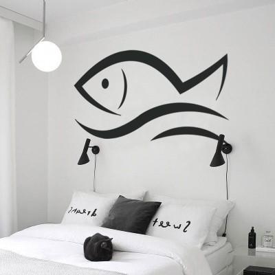 Ψάρι, Ναυτικά, Αυτοκόλλητα τοίχου