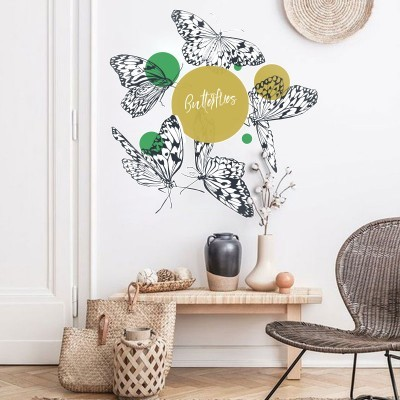 Butterflies, Ζώα, Αυτοκόλλητα τοίχου