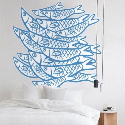 Κοπάδι ψαριών, Ζώα, Αυτοκόλλητα τοίχου