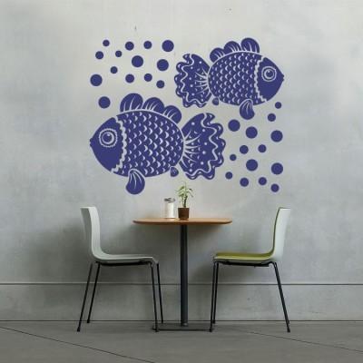 Ψάρια, Ζώα, Αυτοκόλλητα τοίχου