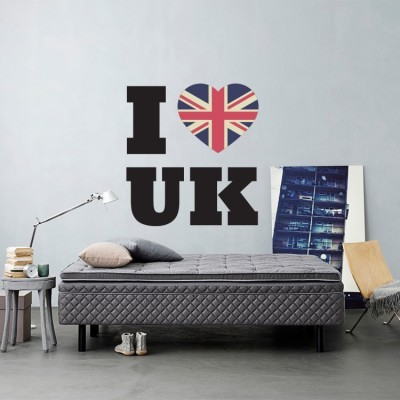 I ♥ UK, Λονδίνο, Αυτοκόλλητα τοίχου