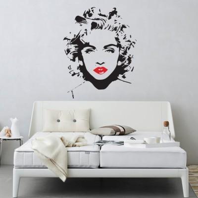 Madonna, Banksy, Αυτοκόλλητα τοίχου