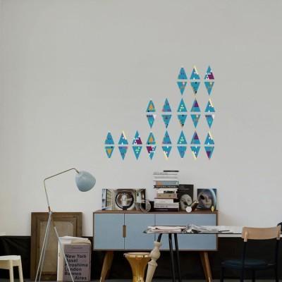 Χρωματιστά Τρίγωνα, Διάφορα, Mini Pack αυτοκόλλητα