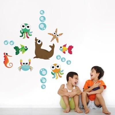 Ο βυθός της θάλασσας, Παιδικά, Mini Pack αυτοκόλλητα