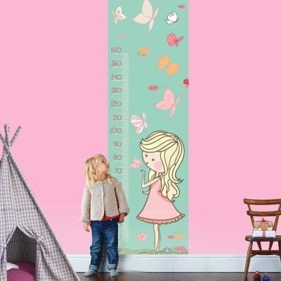 Η Πεπινα με τις πεταλούδες, Αναστημόμετρα, Αυτοκόλλητα τοίχου