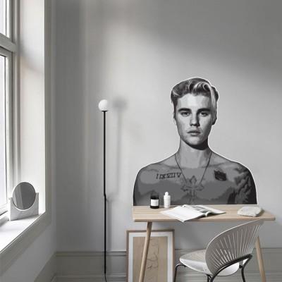 Justin Bieber-2, Φιγούρες, Αυτοκόλλητα τοίχου