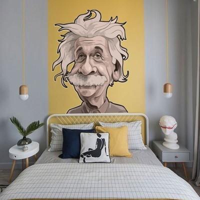 Albert Einstein, Φιγούρες, Αυτοκόλλητα τοίχου