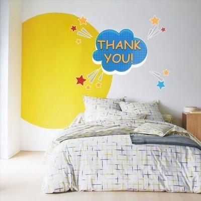 Thank you, Κόμικς, Αυτοκόλλητα τοίχου