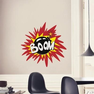 Boom, Κόμικς, Αυτοκόλλητα τοίχου