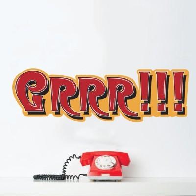 Grrr!!!, Κόμικς, Αυτοκόλλητα τοίχου