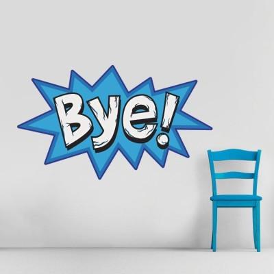 Bye!!, Κόμικς, Αυτοκόλλητα τοίχου