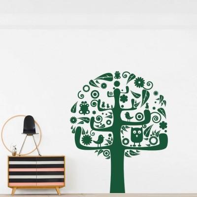Δέντρο, Δέντρα - Λουλούδια, Αυτοκόλλητα τοίχου