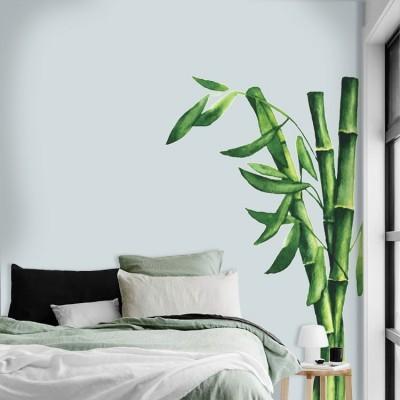 Bamboo, Δέντρα - Λουλούδια, Αυτοκόλλητα τοίχου