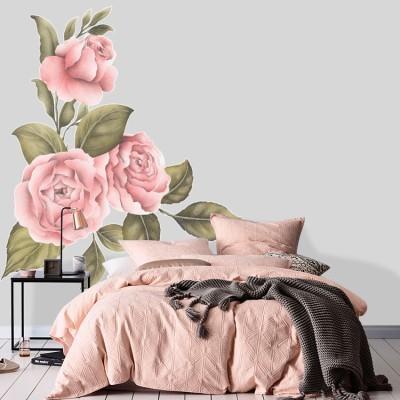 Ρομαντικά Λουλούδια, Δέντρα - Λουλούδια, Αυτοκόλλητα τοίχου