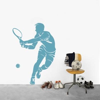 Παίχτης τένις, Σπορ, Αυτοκόλλητα τοίχου