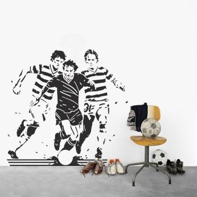 Ποδόσφαιρο με παίκτες, Σπορ, Αυτοκόλλητα τοίχου