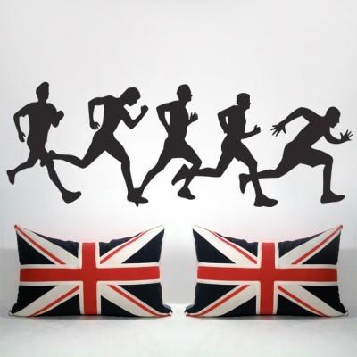 Αγόρια τρέχουν, Σπορ, Αυτοκόλλητα τοίχου
