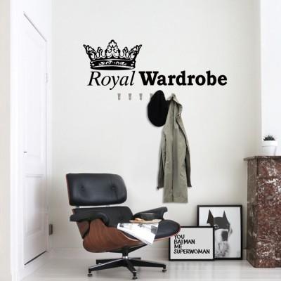 Royal wardrobe, Κρεμάστρες, Αυτοκόλλητα τοίχου