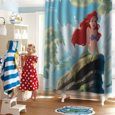 Ariel , Princess, Παιδικά, Κουρτίνες μπάνιου