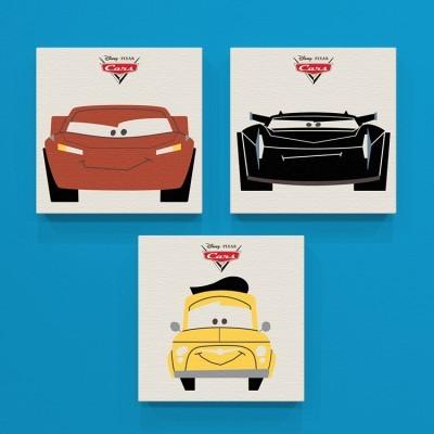 Cars 3!!, Παιδικά, Mini Set καμβάς
