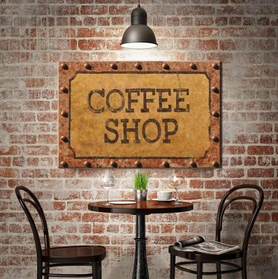 Coffee Shop, Φαγητό, Πίνακες σε καμβά