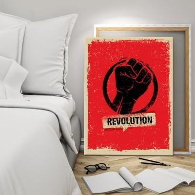 Επανάσταση!, Vintage, Πίνακες σε καμβά