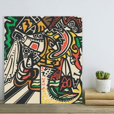 Αφηρημένη τέχνη, Street art, Πίνακες σε καμβά
