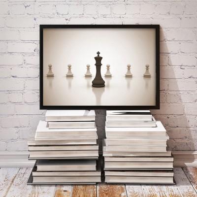 Σκάκι, Διάφορα, Πίνακες σε καμβά