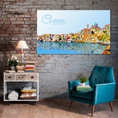 Διακοπές στην Ελλάδα, Ελλάδα, Πίνακες σε καμβά