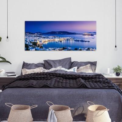 Ηλιοβασίλεμα,  Μύκονος, Ελλάδα, Πίνακες σε καμβά