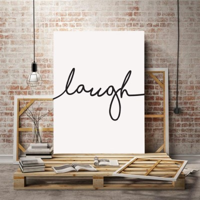 Laugh, Ζωγραφική, Πίνακες σε καμβά