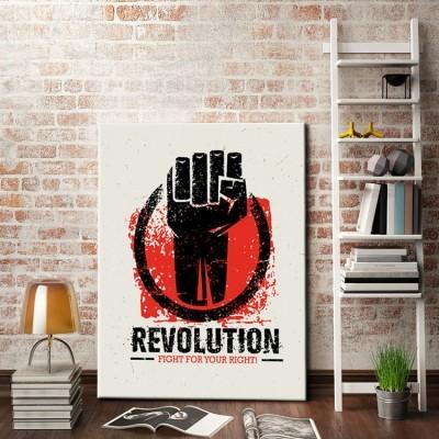 Επανάσταση!, Κόμικς, Πίνακες σε καμβά