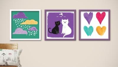 Γάτες, Παιδικά, Multipanel