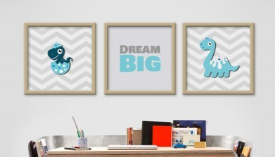Dream big, Παιδικά, Multipanel