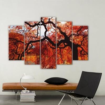 Φθινόπωρο στην Ιαπωνία, Φύση, Multipanel