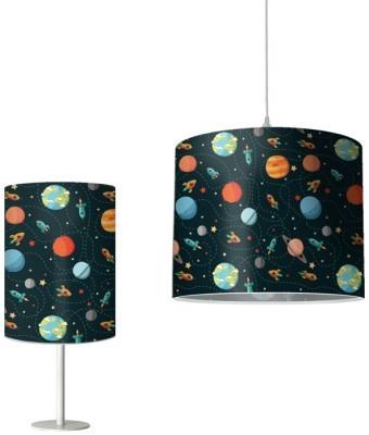 Μοτίβο με πλανήτες, Παιδικά, Φωτιστικά Set