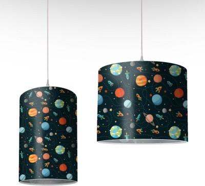 Μοτίβο με πλανήτες, Παιδικά, Φωτιστικά οροφής