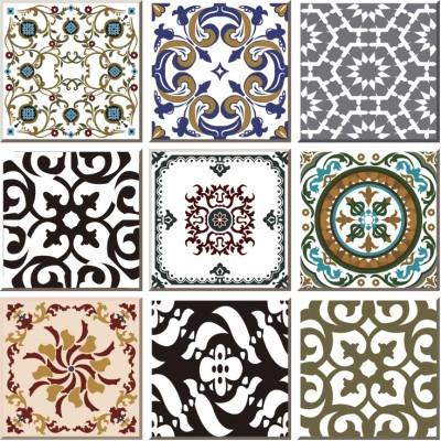 Vintage ceramic tile, Μοτίβα, Image Gallery