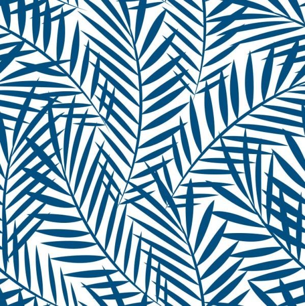 Μπλε τροπικά φύλλα