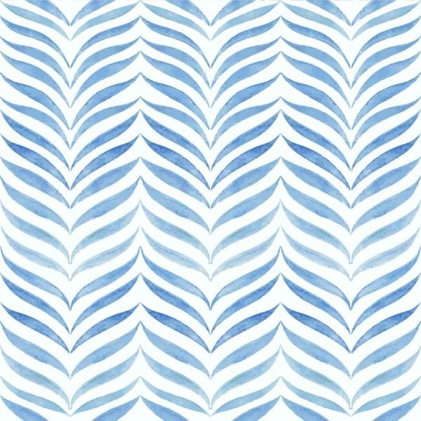 Μπλε μοτίβο με φύλλα